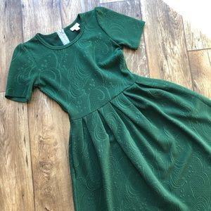 Green Lularoe Amelia